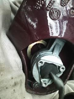 本日の作業  イプシロン ミラー修理とタイヤ交換